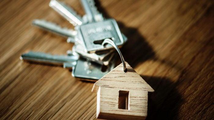 A set of keys for home