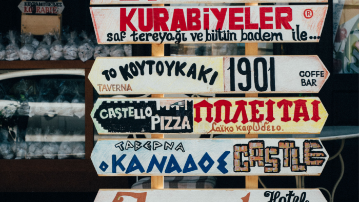 Languages on boards