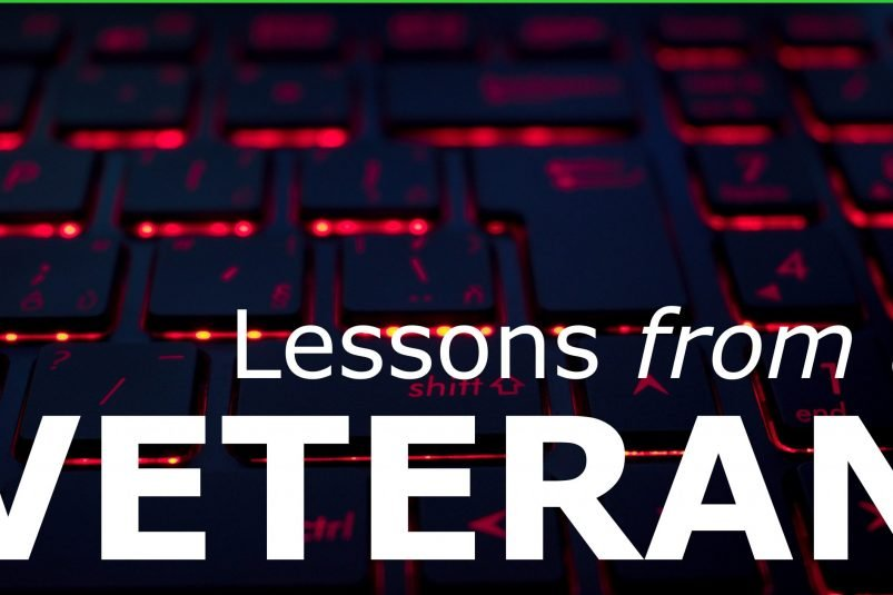 Lessons from a veteran developer